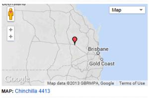Map Chinchilla